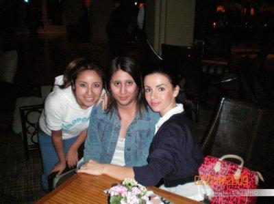 Julia Volkova - Rencontre avec une fan - Los .Angelos  - USA - 24/02/2009
