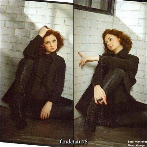 "Lena Katina - Magazine "" OK "" Mexico - 30 Septembre 2011"