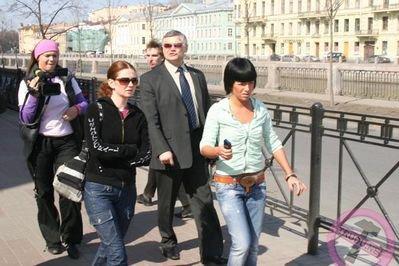 t.A.T.u - Paparazzai - St-Petersburg - RUSSIE- 27/04/2006