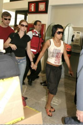t.A.T.u -  Aeroport - México - MEXIQUE -  13/07/2006