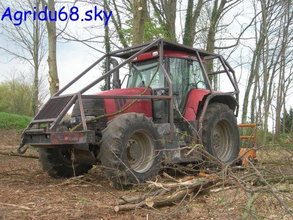 tracteur forestier case