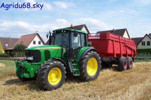 JD 6620 + Benne BRIMONT BB14B de 14T (13.07.10)