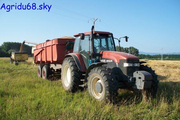 NH M135 + Benne BRIMONT BB12B de 12T (13.07.10)