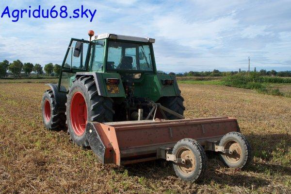 Fendt Farmer 312 LSA + Broyeur 3,20mètres (à l'exploitation ou il y a le 412) (2/10/10)