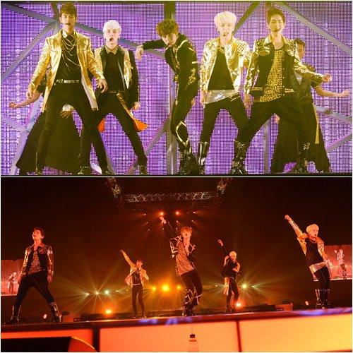 Japon: SHINee a débuté sa seconde tournée avec succès