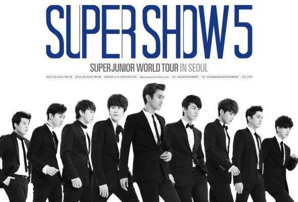 Europe: Le SS5 de Super Junior a été confirmé en Europe