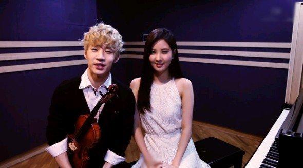 """Henry et Seohyun (SNSD) sont réunis pour une version inédite de """"Trap"""""""