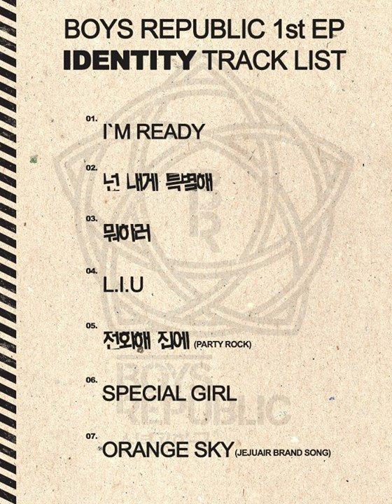 """Les Boys Republic annoncent la sortie de l'opus """"Identity"""""""