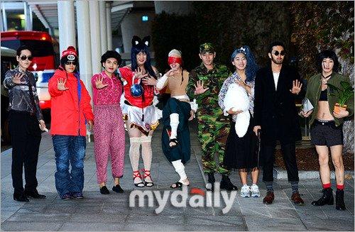 Super Junior se déguise pour son 8ème anniversaire