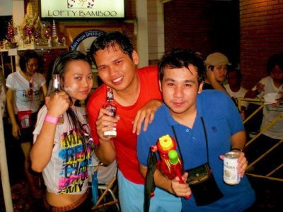 Songkran in Thailand :)