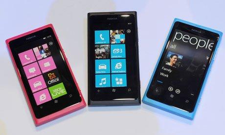 Nokia Lumia 800♡.