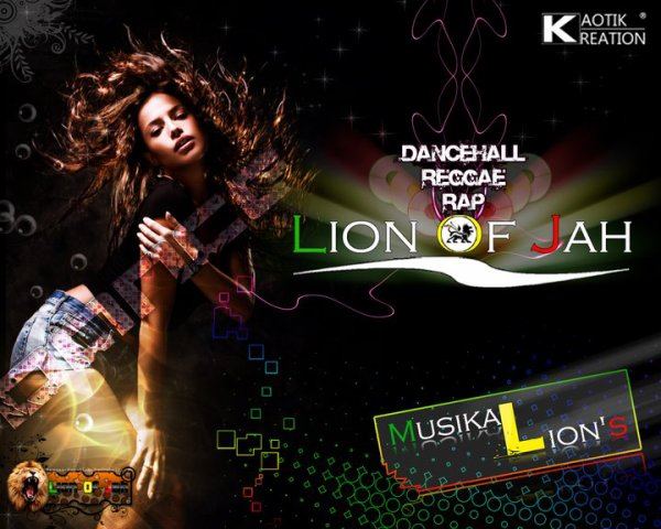 Lion Of Jah by Kaotik Kréation