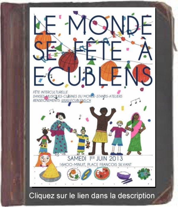Le monde se fête à Ecublens.