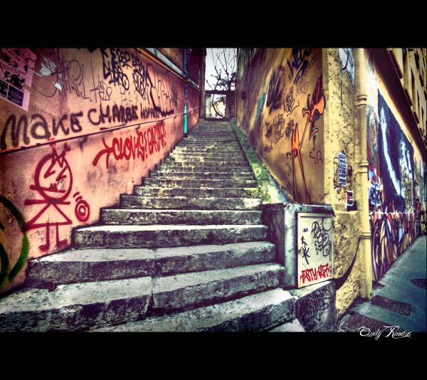 STREET GRAFF - Pentes de la croix rousse