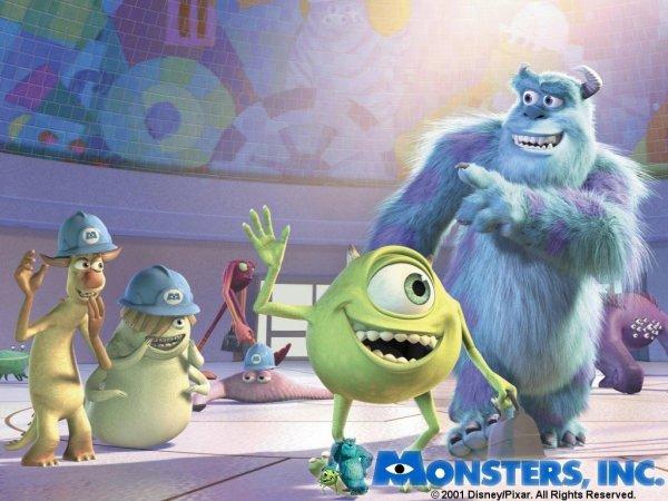 Monstres Et Compagnie Les Répliques Des Disney