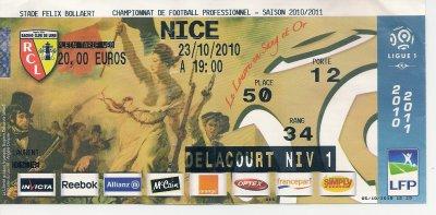 Lens 1 Avant le match du 23 - 10 - 2010 Contre Nice 4