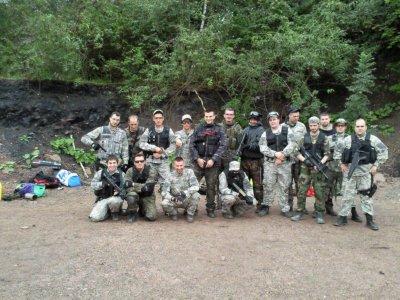 Petite photo de groupe  de la CAK .