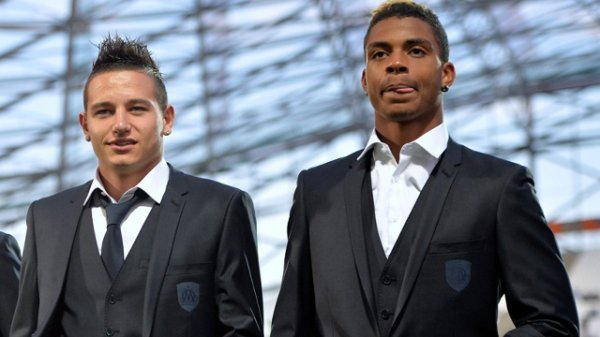 Florian Thauvin et Mario Lémina