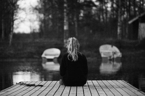 Je suis seule