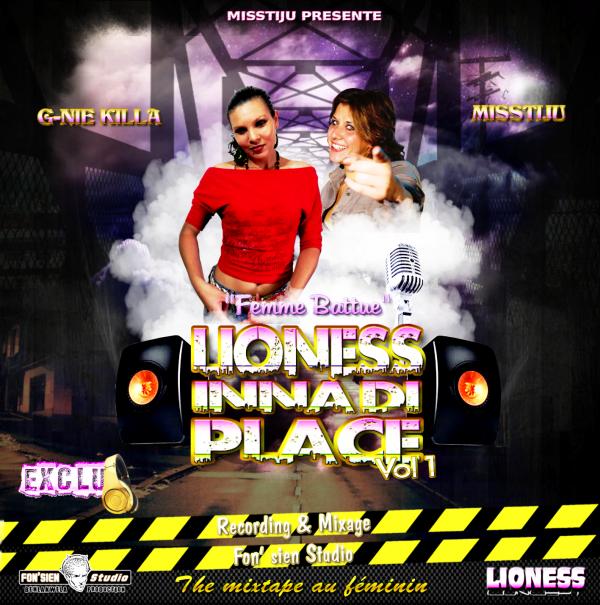 """LIONESS INNA DI PLACE / """"FEMME BATTUE"""" G-NIE KILLA FEAT MISSTIJU (2013)"""