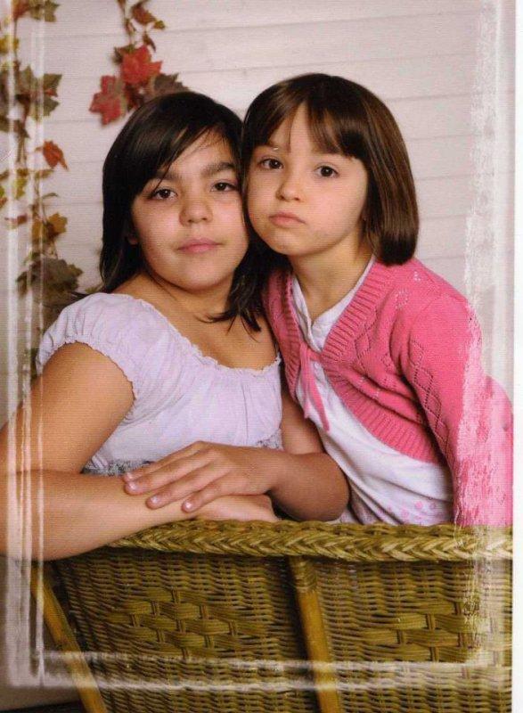mes deux petites filles