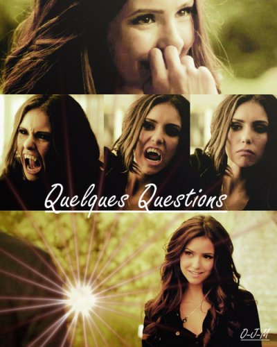 Quelques Question sur Vampire Diaries