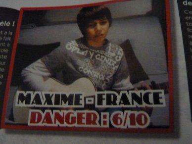 MAXIME DANS UN MAG !!!