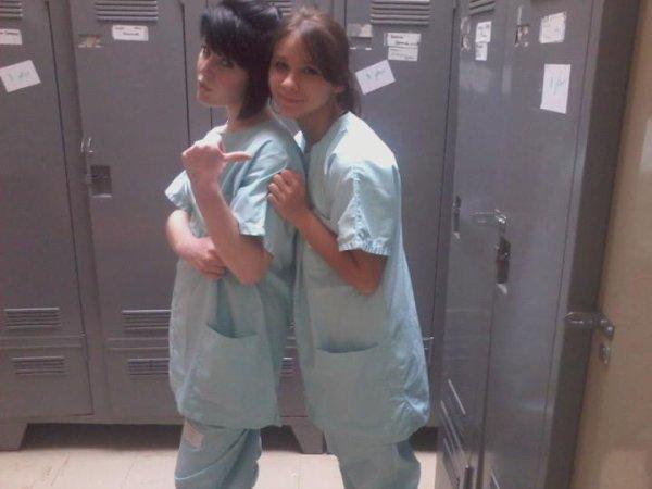 Justine et moi <3