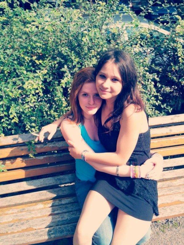 Moi et ma chérie !! <3