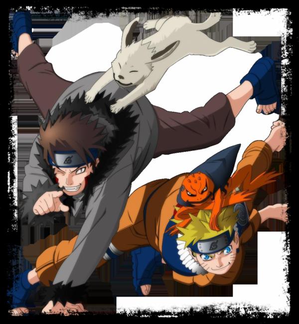 Kiba et Naruto