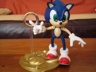 Figurine SONIC ADVENTURE:Sonic the hedgehog