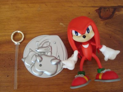Figurine SONIC ADVENTURE:Knuckles the echidna