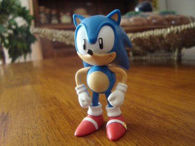 Figurine sonic the hedgehog miniature