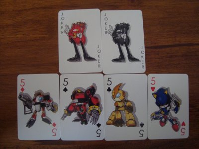 Jeu de cartes Sonic the Hedgehog