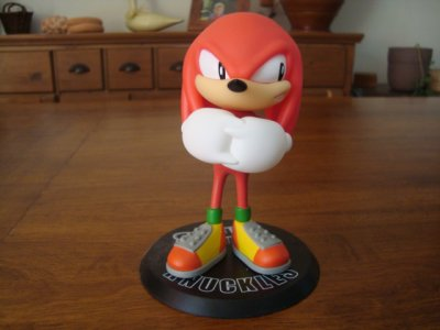 Figurine Knuckles the echidna collectible figure séries 1