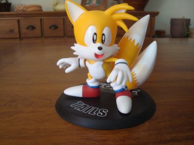 Figurine Miles Tails prower collectible figures séries 1