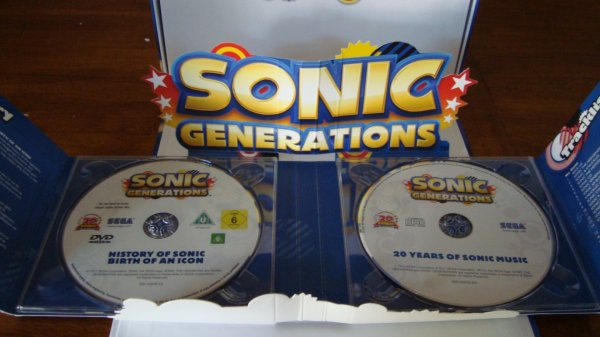 SONIC Generations PS3 édition collector