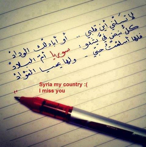 اللهم  احم سوريا