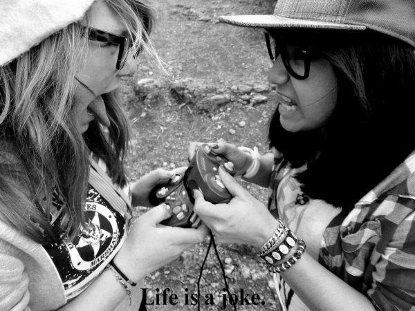 Life is a joke  ♥.