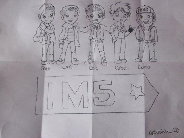 Autre dessin encore de moi :) <3