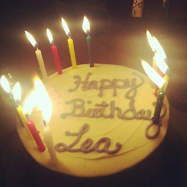 Joyeux Anniversaire Léa and Liam :) !