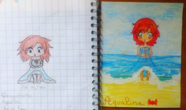 Draw this again...Aqualina Elementaria