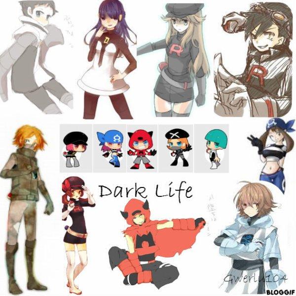 Fiction n°3 Dark Life :