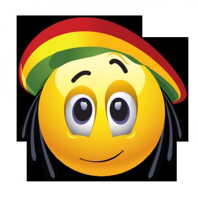 Des Smileys Rastas