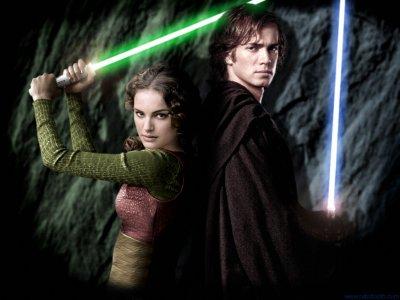 Padmé Amidala & Anakin Skywalker en Jedi