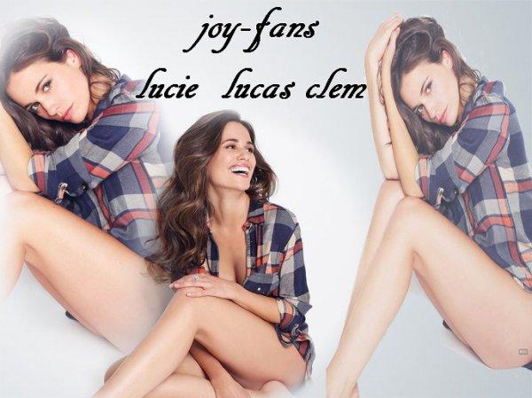 Lucie Lucas joy-fans