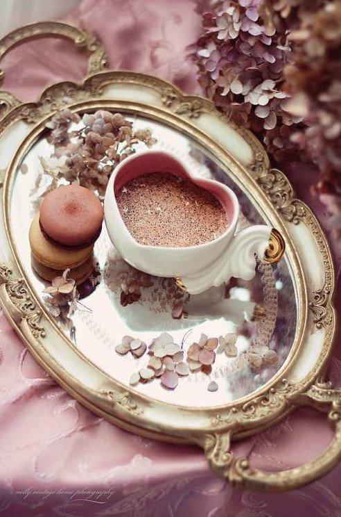 Petit chocolat chaux pour vous mes Dames en ce jour de neige Bonne journée