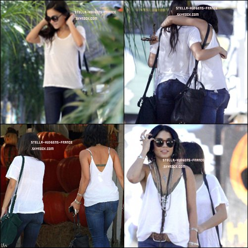 .29/09/11 - Stella de sortie à Sherman Oaks avec sa grande soeur Vanessa    !