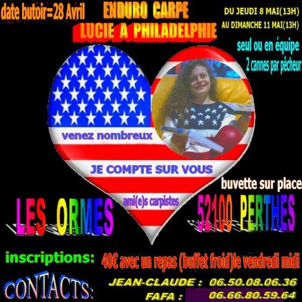Enduro caritatif 2014 pour Lucie organisé par le Club Carpeust Joinvillois !