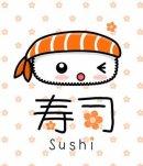 Photo de sushi-volant